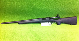Left Handed Remington 308 Police Rifle for sale image